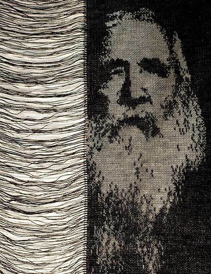 Tragbares Strickporträt | Mads Dinesen