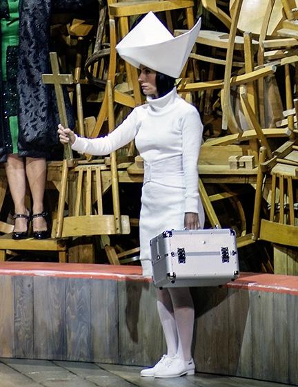 Rippstrick für Salzburger Festspiele